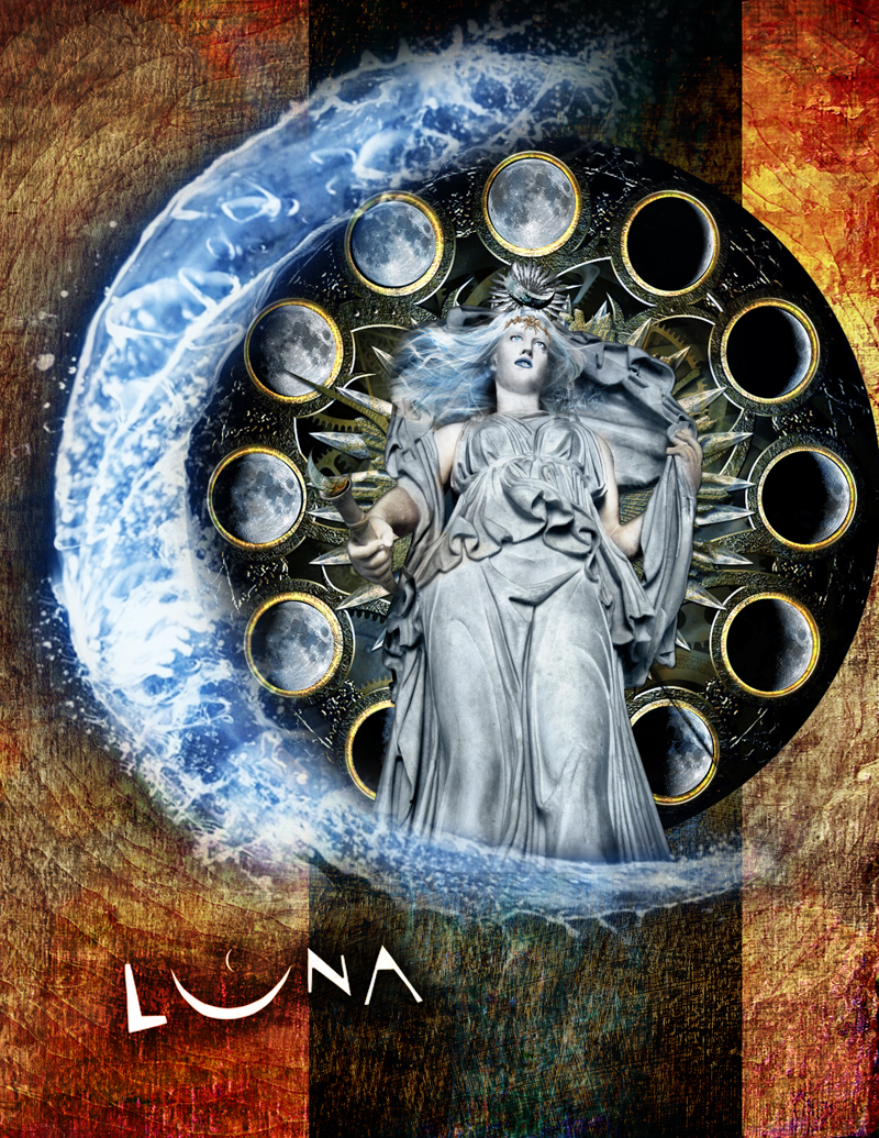"""LUNA"" – contest submission for Dave McKean's next feature film project. Top ten popular vote winner"